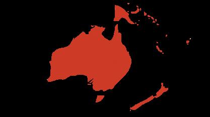 Océanie Ozeanien Pays Länder